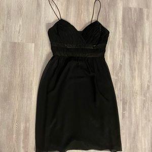 NWOT Cake black empire waist dress size medium